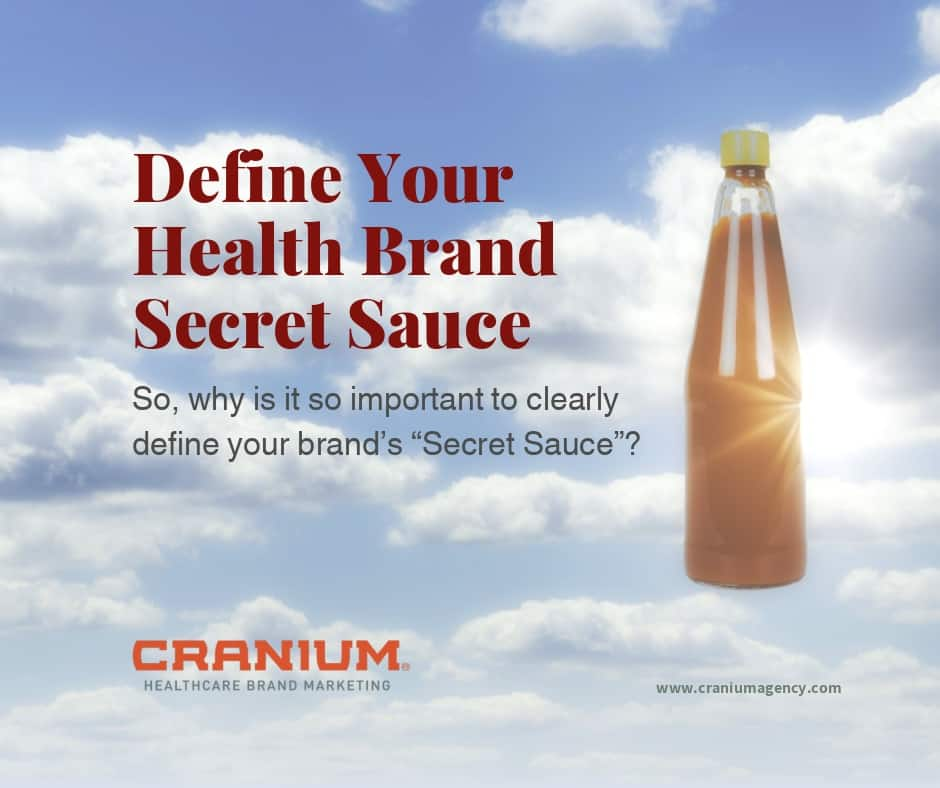 Define Your Health Brand Secret Sauce